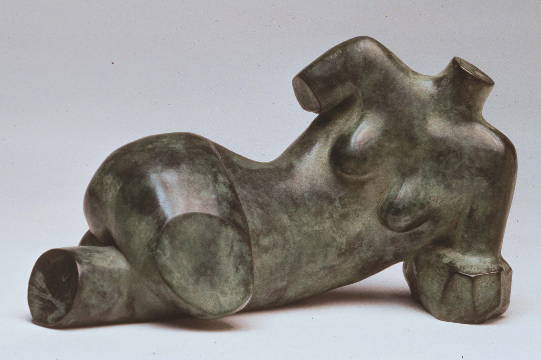 """Torso Maquette, Dimensions: 4.5""""h x 7.5""""w x 3.5"""" d"""