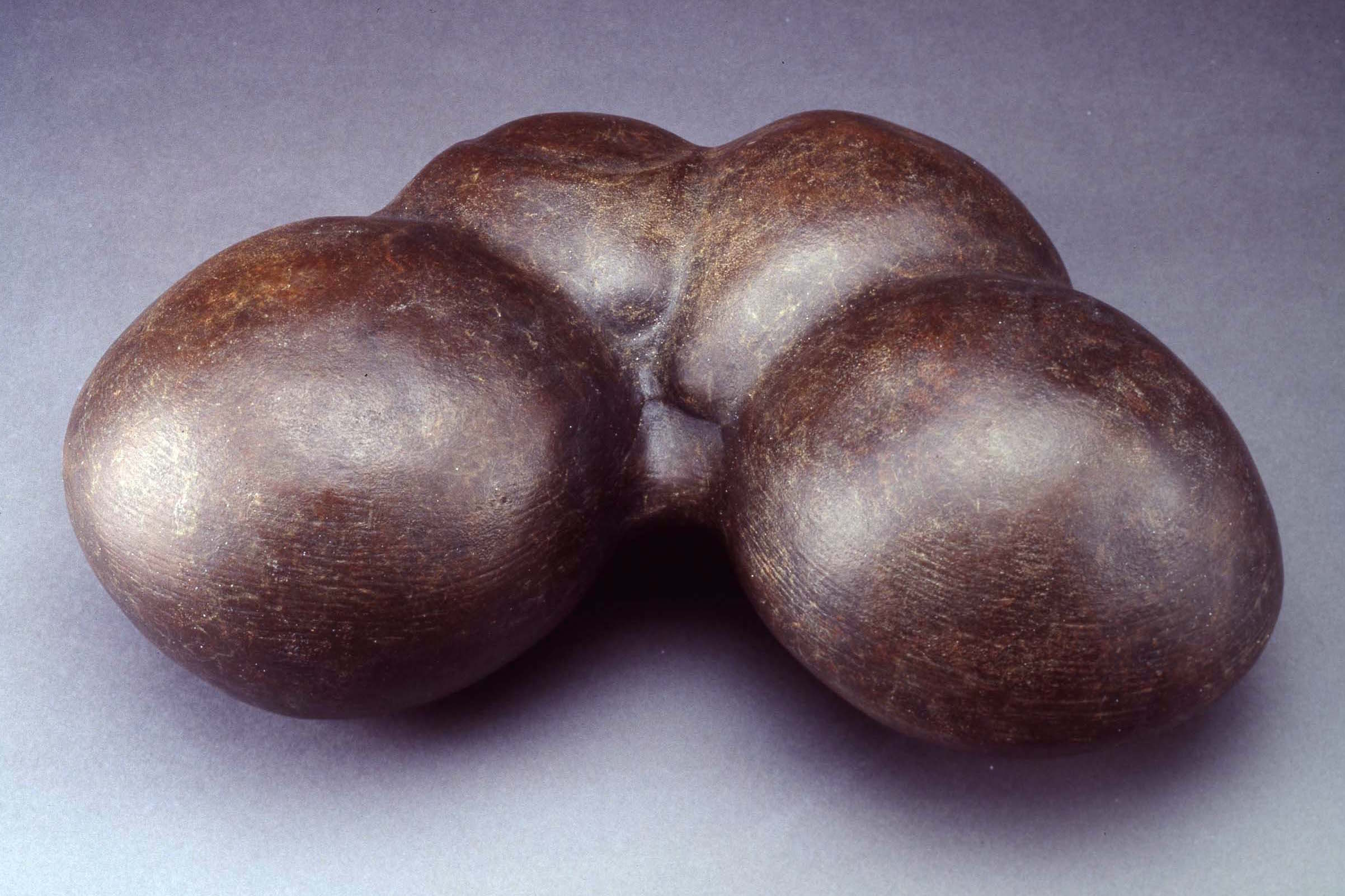 "Concretion, Dimensions: 6""h x 16""w x 11""d"